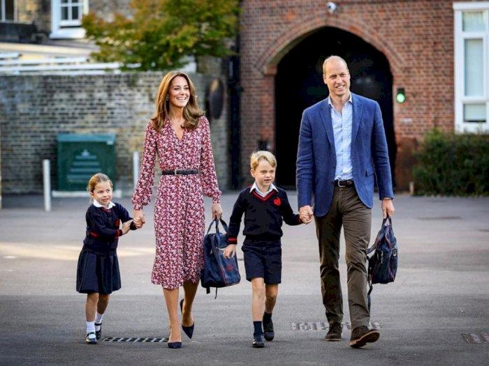 Meski #Dirumahaja Kate Middleton Batasi Anak- anaknya Nonton Televisi