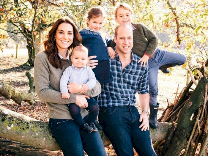 Pangeran William dan Kate Middleton Bagikan Tips Parenting di Tengah Pandemi Corona