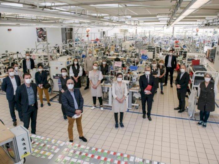 Louis Vuitton Ubah Store Jadi Workshop Pembuatan Masker