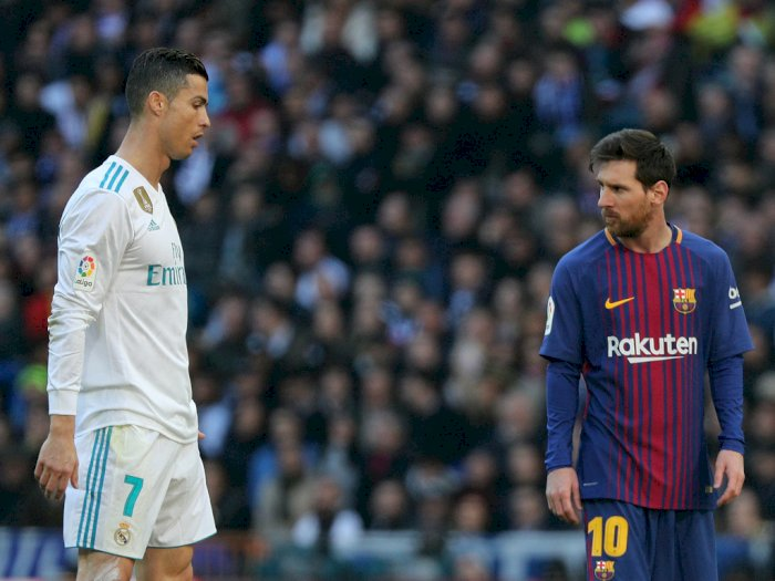 Rooney Pilih Messi Ketimbang Ronaldo