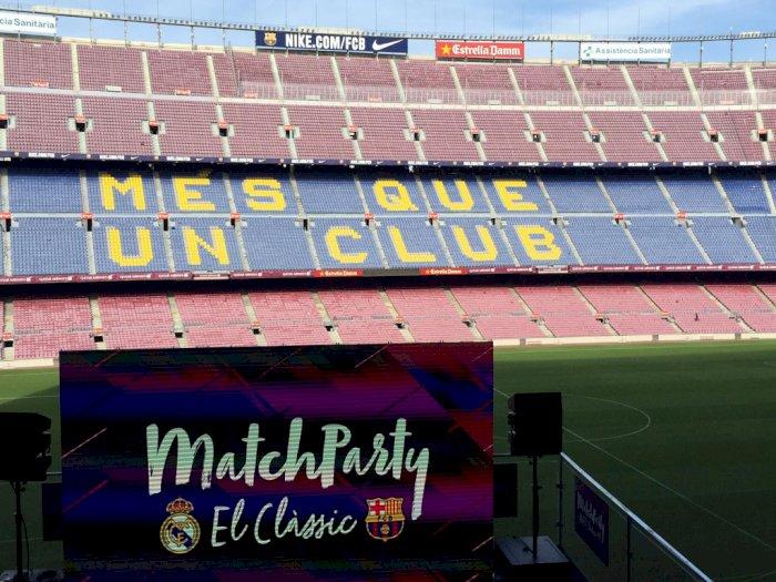 Barcelona Berencana Tutup Camp Nou Sampai Tahun Depan