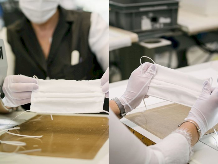 Louis Vuitton Produksi Masker Wajah dari Workshop di AS