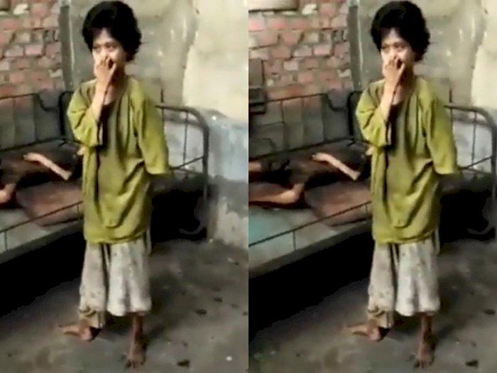 Viral Kakak Beradik di Muara Enim Kelaparan, Minta Nasi kepada Petugas