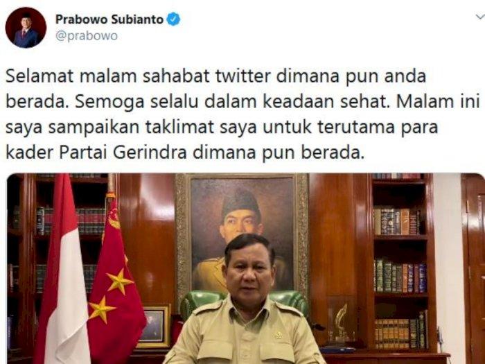 Video Prabowo Ungkap Kesaksiannya Kalau Jokowi Terus Berjuang untuk Bangsa dan Negara