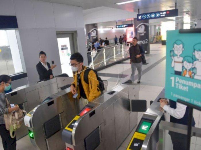 Dukung PSBB, 5 Stasiun MRT Jakarta Ditutup