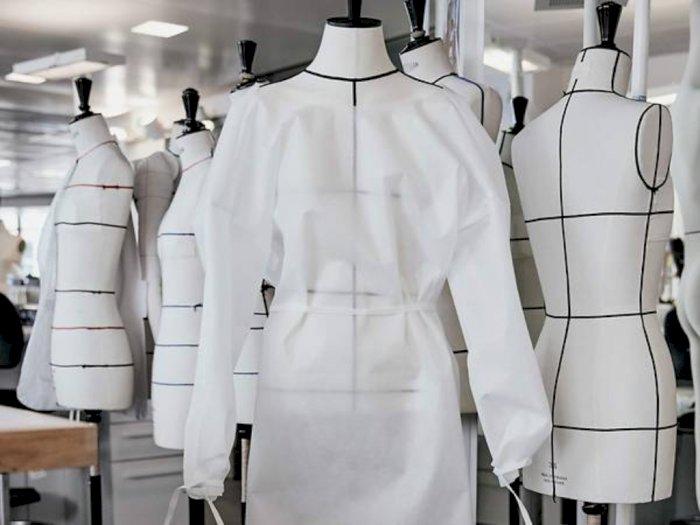 Louis Vuitton Bikin APD Fashionable untuk Tenaga Kesehatandi Paris