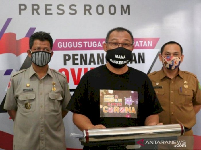 Plt Walikota Medan: Penularan Covid-19 Terjadi Antar Sesama Warga Medan