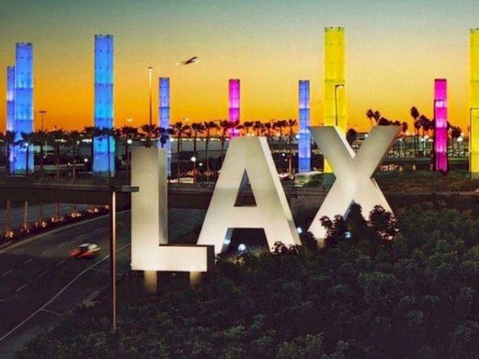 LAX, Bandara Tersibuk di Dunia Ini Kini Hanya Angkut 5% Penumpang Saja