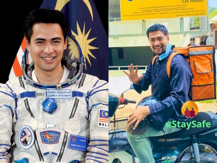 Astronot Pertama di Malaysia Ini Jadi Kurir Antar Makanan, Kok Bisa?