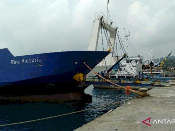 Pelabuhan Gunungsitoli Melarang Kapal Keluar Masuk Bawa Penumpang