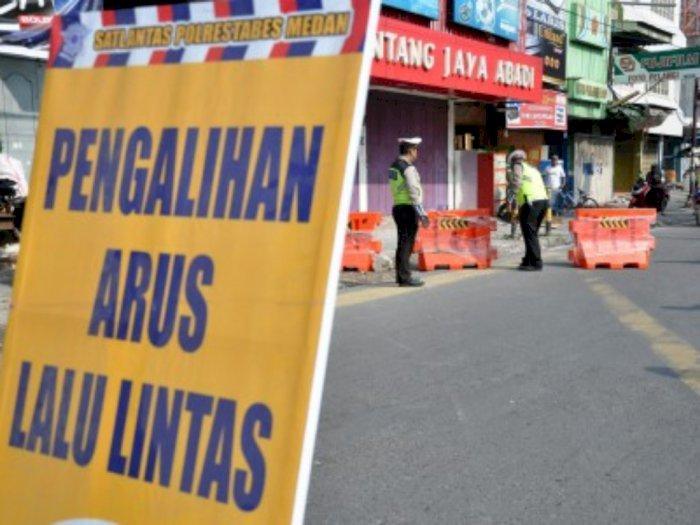 Sejumlah Ruas Jalan di Medan akan Ditutup, Ini Daftarnya!