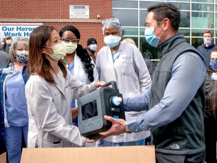 Ventilator Buatan General Motors Mulai Dikirim ke Rumah Sakit yang Membutuhkan