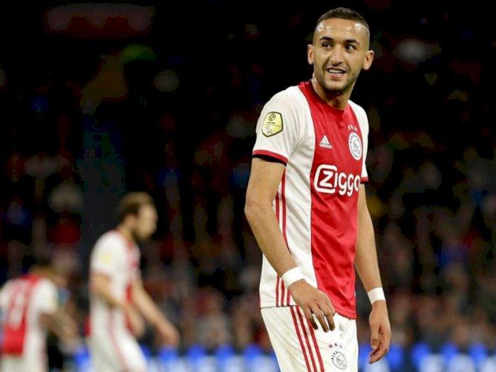 Kekesalan Ziyech Saat Timnya Tak Dinobatkan Juara Liga Belanda