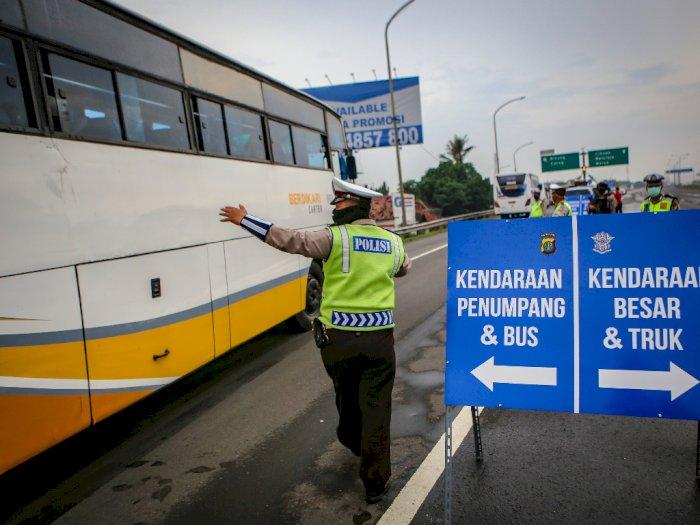 Larangan Mudik Sudah Mulai Berlaku, 1.181 Mobil & 508 Bus Diminta Putar Balik