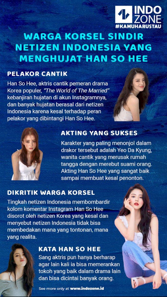 Warga Korsel Sindir Netizen Indonesia yang Menghujat Han So Hee
