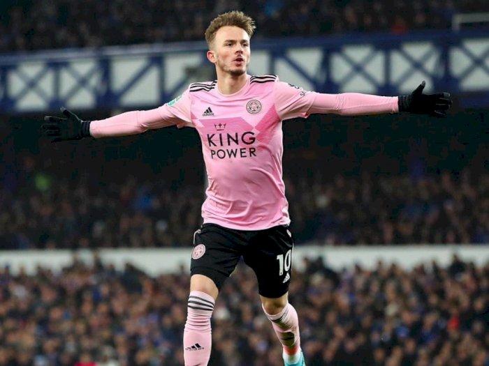 Jadi Incaran MU, Maddison Janji Tetap Bertahan di Leicester City