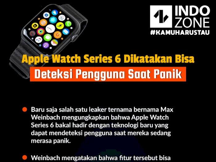 Apple Watch Series 6 Dikatakan Bisa Deteksi Pengguna Saat Panik