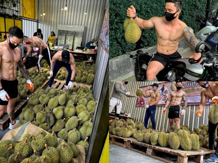 Pelayannya Pria Tampan dan Berotot, Usaha Durian di Thailand Laris Manis