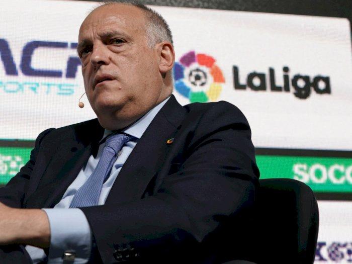 Liga Prancis Dihentikan, Ini Komentar Presiden La Liga