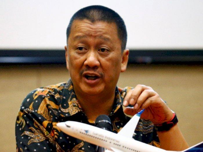 Bos Garuda Bantah Langgar Perintah Erick Thohir soal THR untuk Direksi dan Komisaris