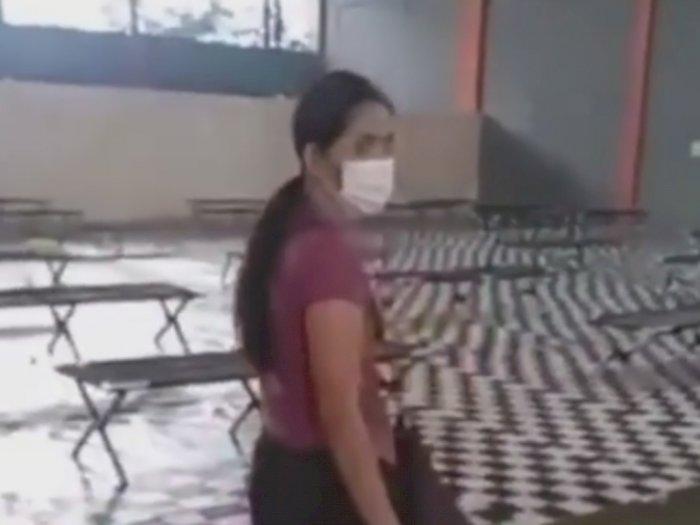 Video TKW Dibawa ke GOR untuk Karantina Bikin Sedih