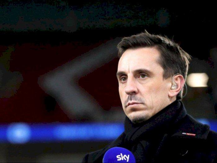 Gary Neville Kritik Rencana Soal Kelanjutan Liga Inggris