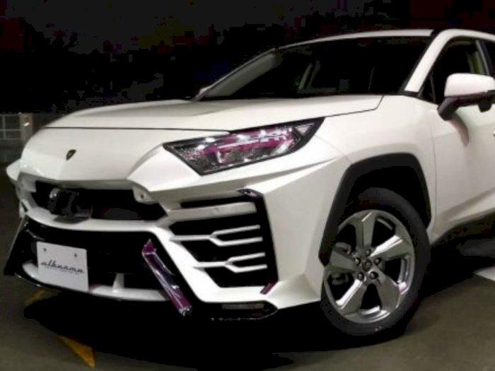 Toyota RAV4 Berhasil Disulap Jadi Lamborghini Urus, Begini Bentuknya