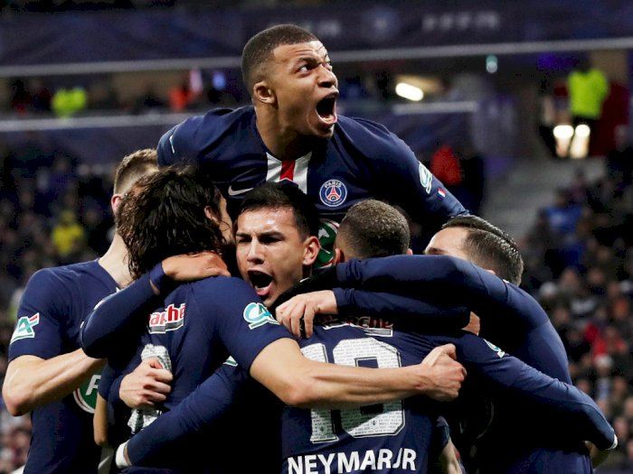 PSG Jadi Kampiun Liga Prancis