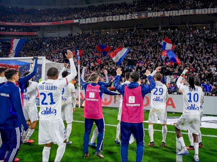 Lyon Akan Tempuh Jalur Hukum Soal Dihentikannya Ligue 1