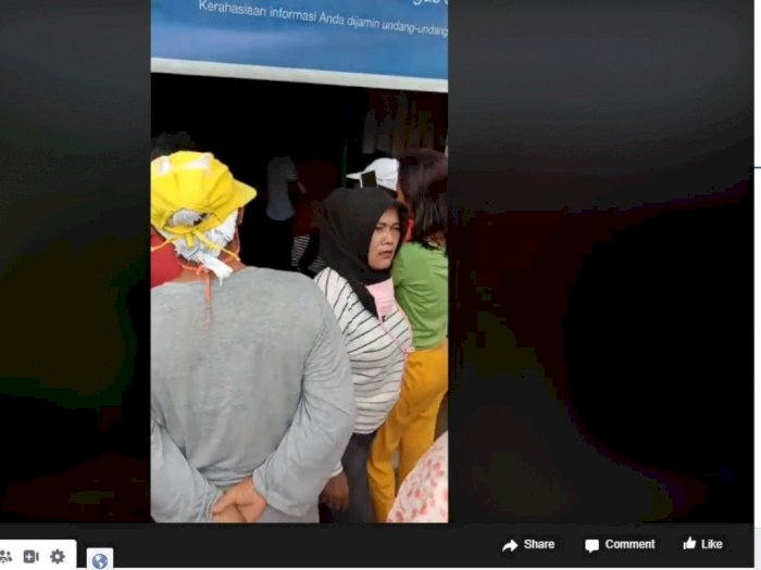 Viral Emak-Emak Geruduk Kantor Desa, Tuntut Dana Bantuan Wabah Corona