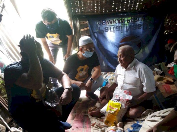 Pewarta Polrestabes Medan Berikan Bantuan Sembako ke Warga Terdampak Covid-19