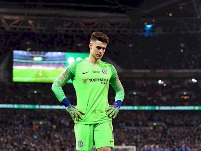 Kepa Tegaskan Hubungannya dengan Lampard Tidak Ada Masalah