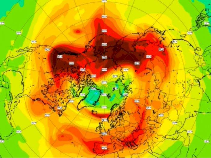 Lubang Ozon Terbesar di Kutub Utara Dikabarkan Makin Mengecil, Efek Lockdown?