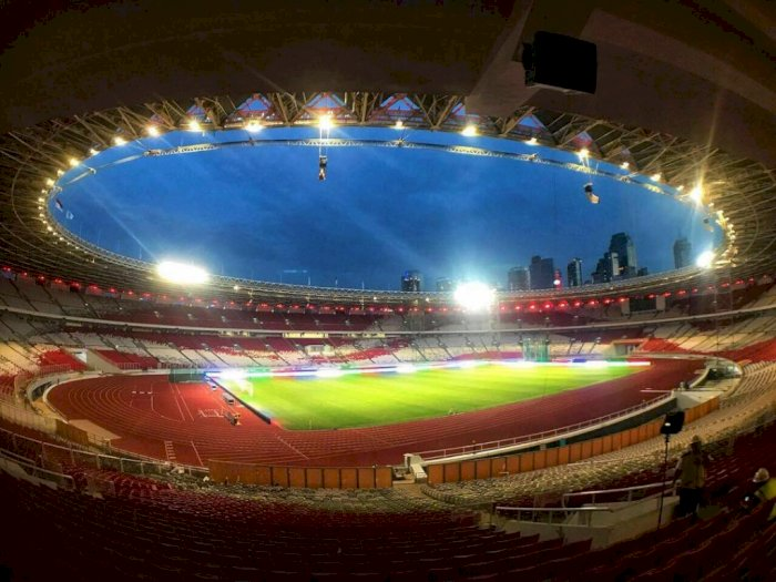 Stadion GBK Jadi Salah Satu Stadion Termegah di Kawasan Asia Tenggara