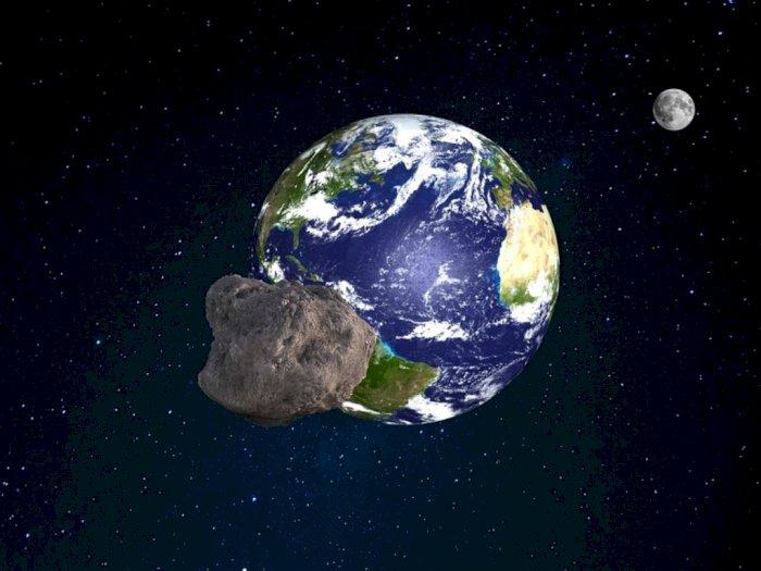 Asteroid yang Bergerak Mendekati Bumi Bukan Berarti akan Menabrak Bumi