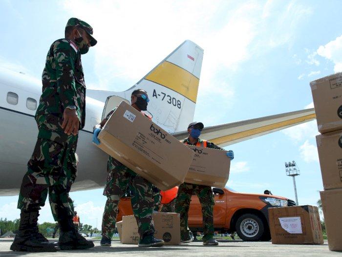 Hadapi Covid-19, Indonesia Terima Bantuan Lebih dari Rp1,2 Triliun