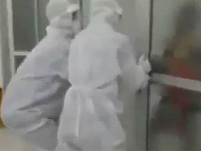 Kakek Berstatus PDP Corona Ngamuk di Ruang Isolasi, Perawat Dibuat Kewalahan