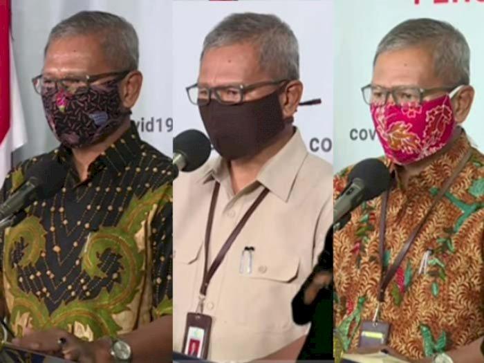 5 Motif Masker Kain Nuansa Etnik dan Chic Milik Jubir Covid-19 Achmad Yurianto