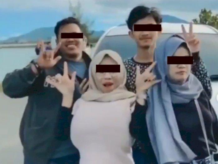 Heboh Mobil Bergoyang Artis Tiktok, 'Mia Khalifa' Aceh Ditangkap Hingga Muncul Klarifikasi