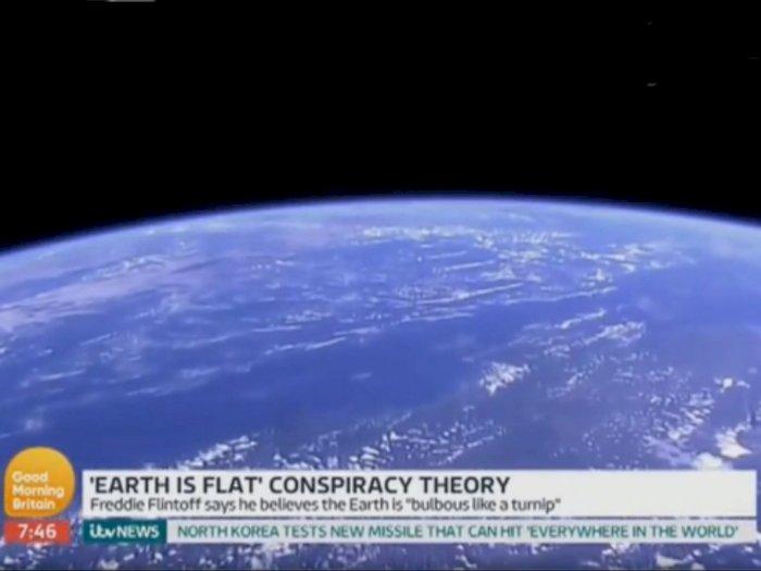 Saat Penganut Bumi Datar Berdebat Dan Ungkapkan Teorinya Kepada Astronot Nasa