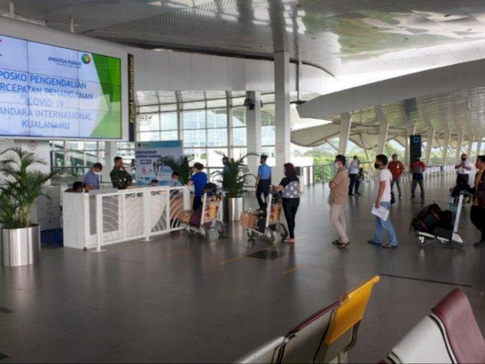 Begini Prosedur Baru Persyaratan Calon Penumpang Bandara Kualanamu