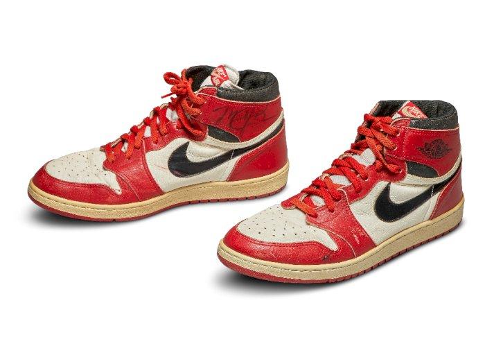 Sepatu Basket Michael Jordan Dilelang, Diperkirakan Laku Rp2,2 Miliar
