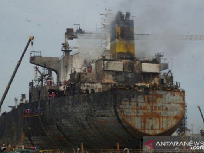 Daftar Korban Luka dan Meninggal Dalam Kapal Tanker yang Terbakar di Belawan