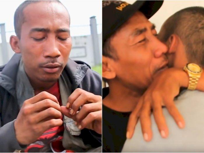 Momen Haru Pertemuan Anak yang Alami Gangguan Jiwa dengan Ayahnya, Terpisah Selama 3 Tahun
