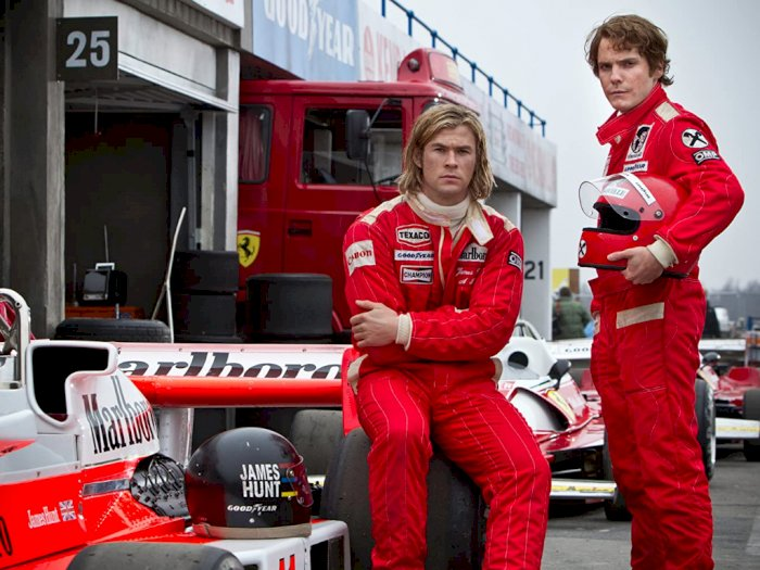 """Sinopsis """"Rush (2013)"""" -  Perjalanan Hidup Dua Pembalap F1"""