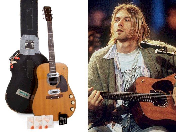 Gitar Akustik Kurt Cobain Dilelang, Diprediksi Terjual Rp14,8 Miliar