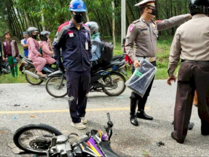 Kecelakaan Maut, Dua Pengendara Motor Tewas Usai Tabrakan dengan Mobil