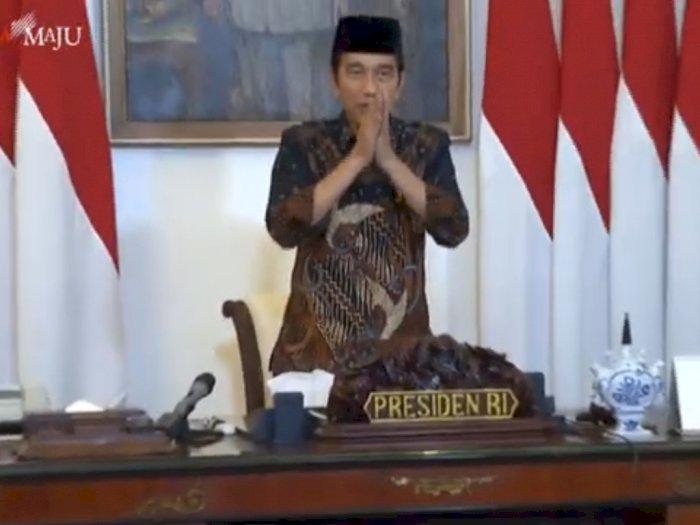 Presiden Jokowi Bayar Zakat kepada Baznas Secara Virtual