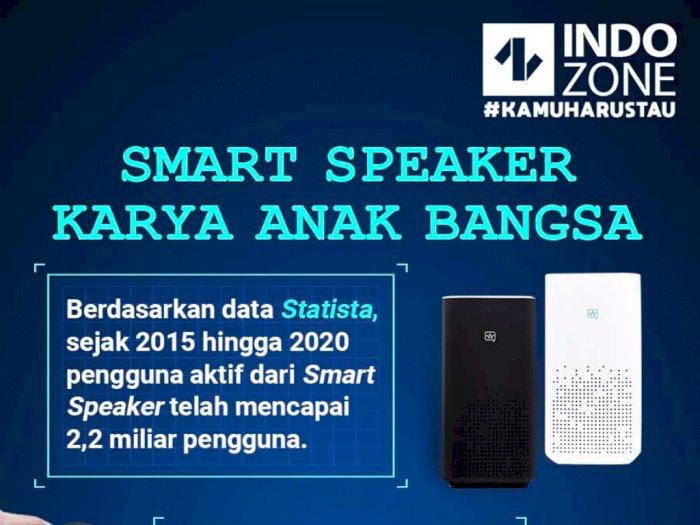 Smart Speaker Karya Anak Bangsa
