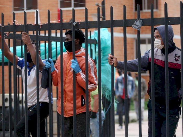 Separuh Tahanan di Penjara Kolombia Terinfeksi Covid-19